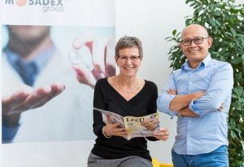 Oncologieverpleegkundigen Joop Djontono en Liesbeth Ouwerkerk
